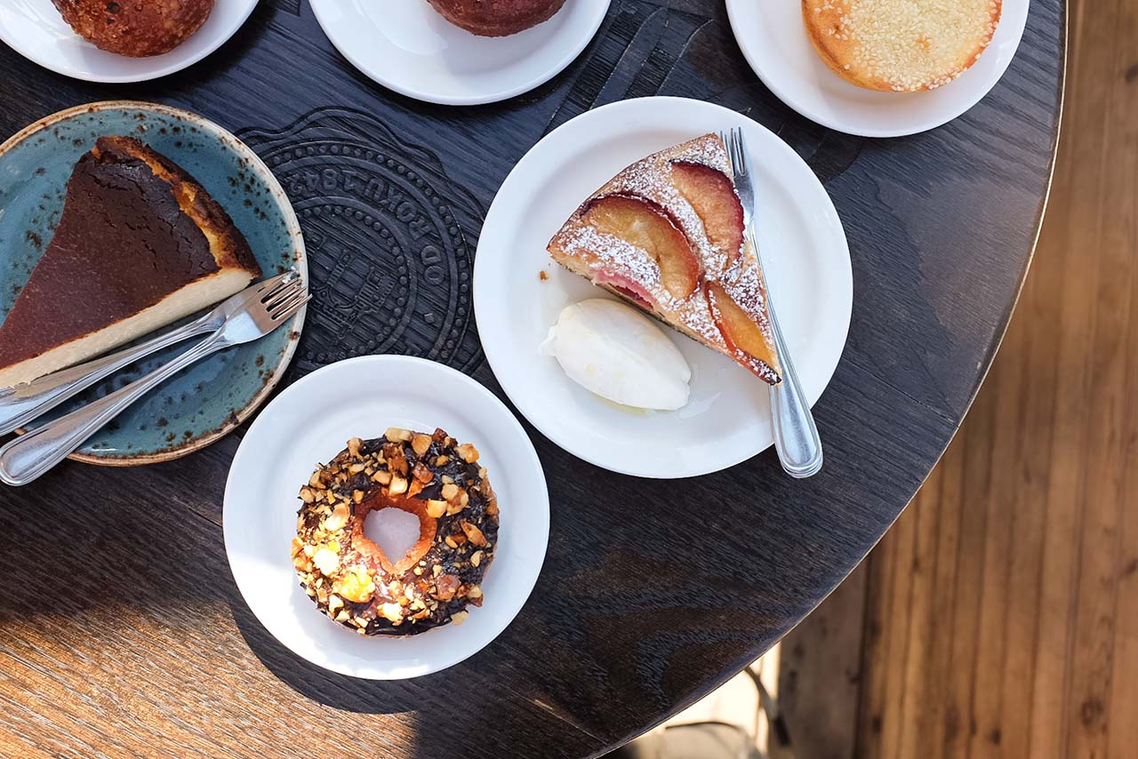 Desserts at Bar Raval, Toronto