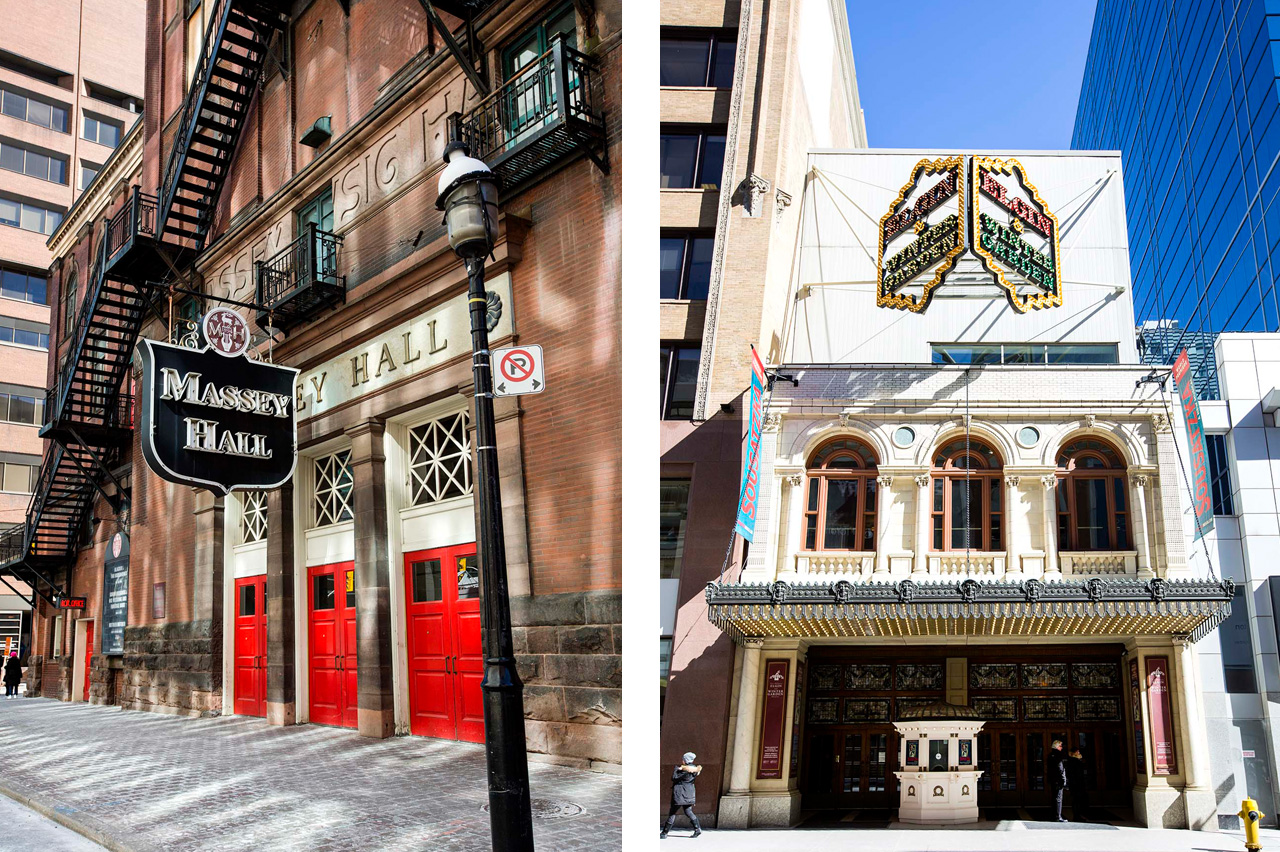 Massey Hall and Elgin & Winter Theatre, Toronto