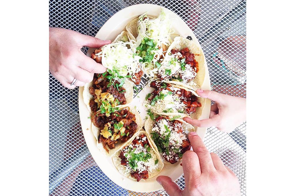Tacos at Big Star