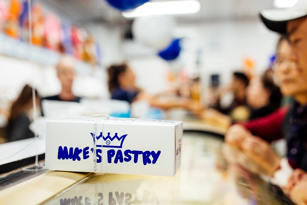 Inside Mike's Pastry