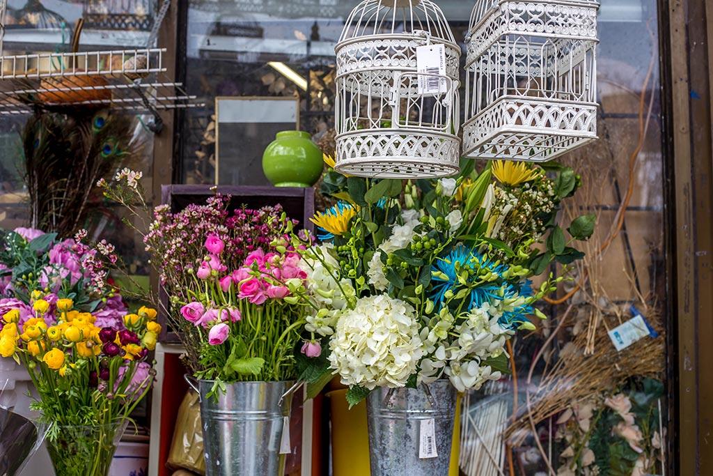 Arrangements at Dragon Flowers