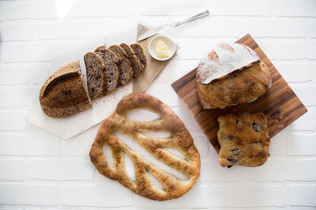 Baked goods at Guillaume Bakery