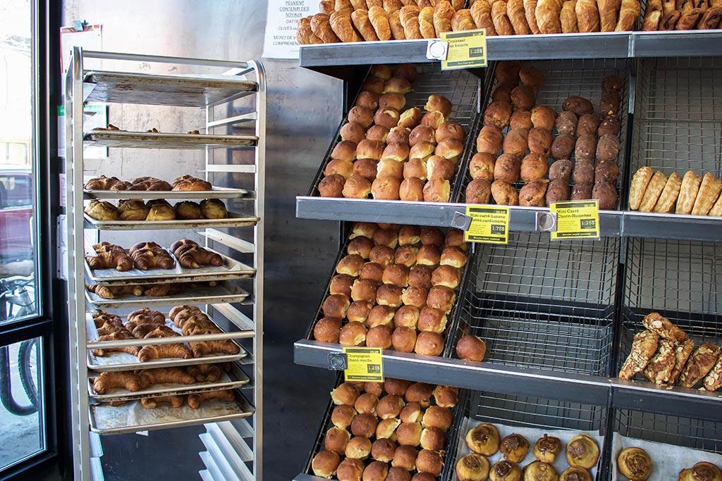 Freshly baked goods at Guillaume Bakery