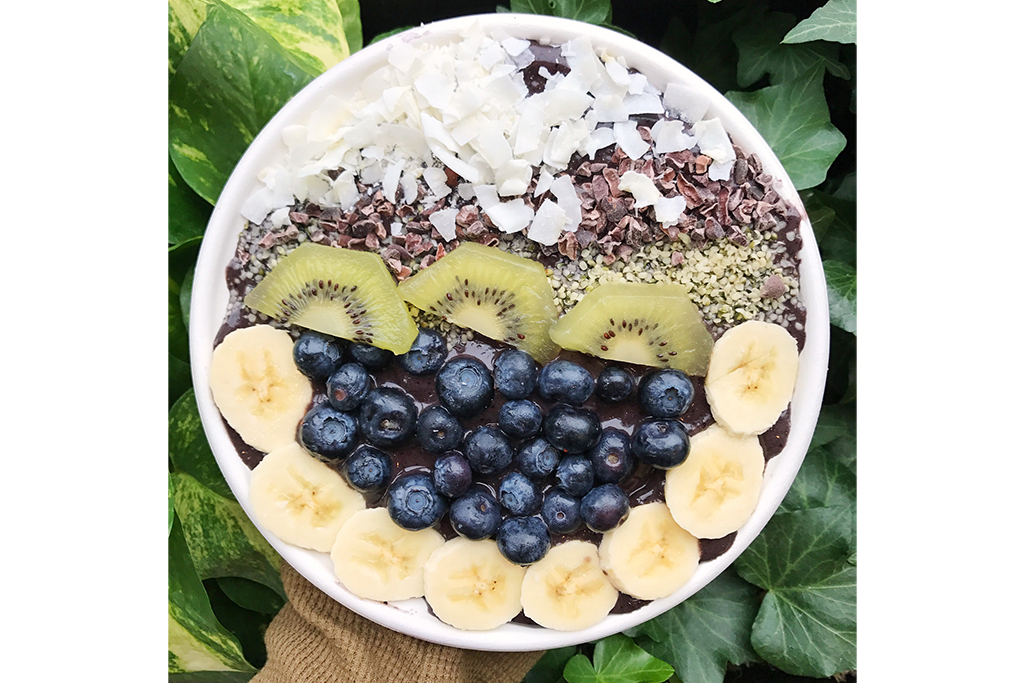 Smoothie bowl at Juice Rx