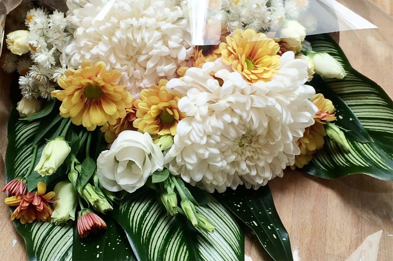 A bouquet by Van Harten & Tossell Flowers