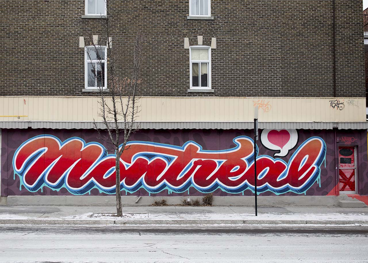 A roundup of the best murals in montréal