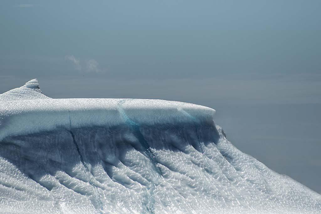 Top of the ice berg