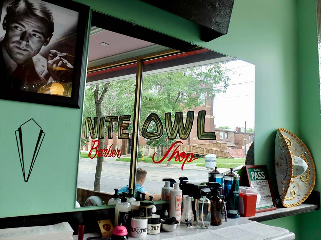 The Nite Owl Barber Shop