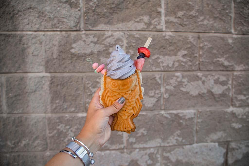 Kamehameha - ice cream