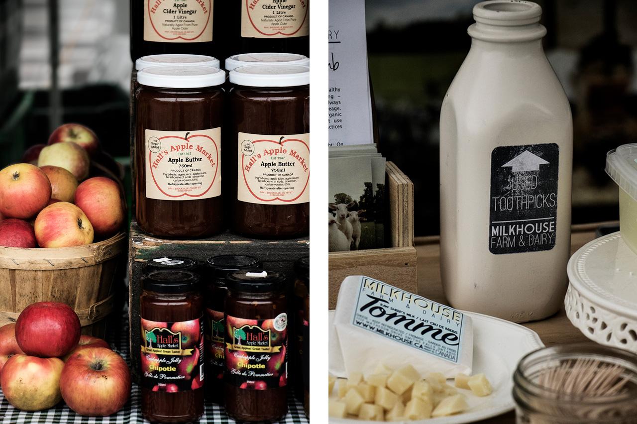 jams and artisan cheeses