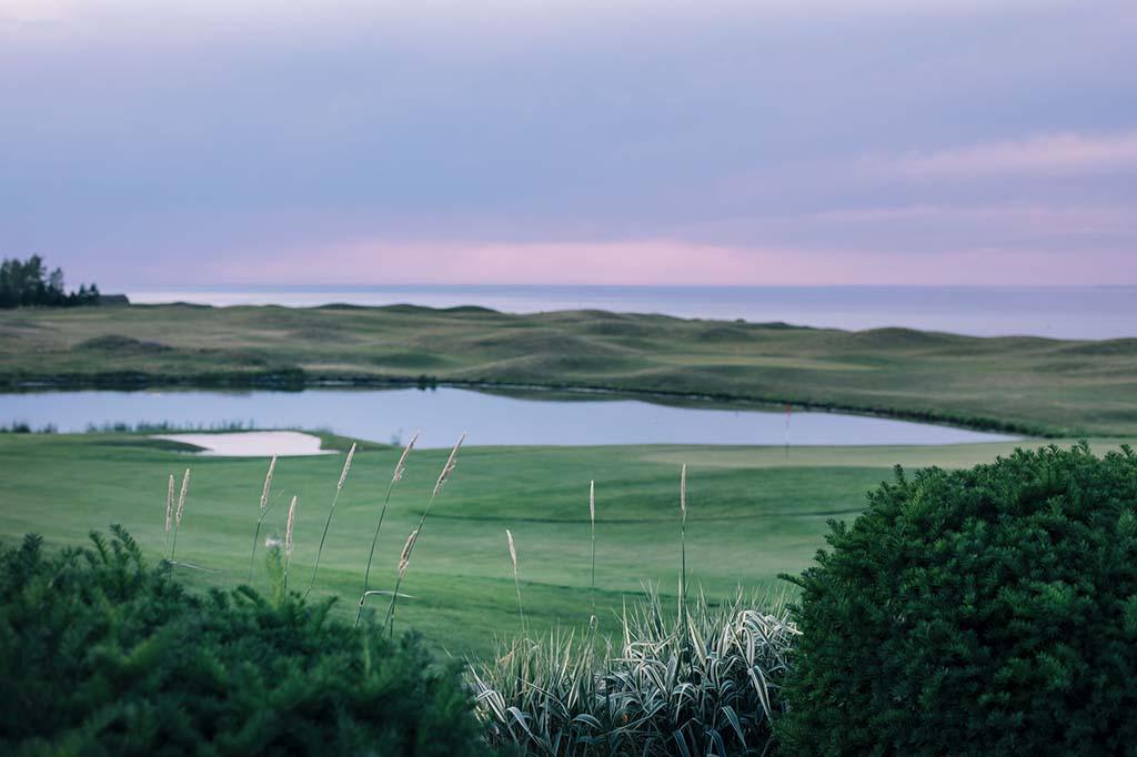 Award-winning golf course