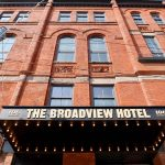 The Front of the Broadview Hotel