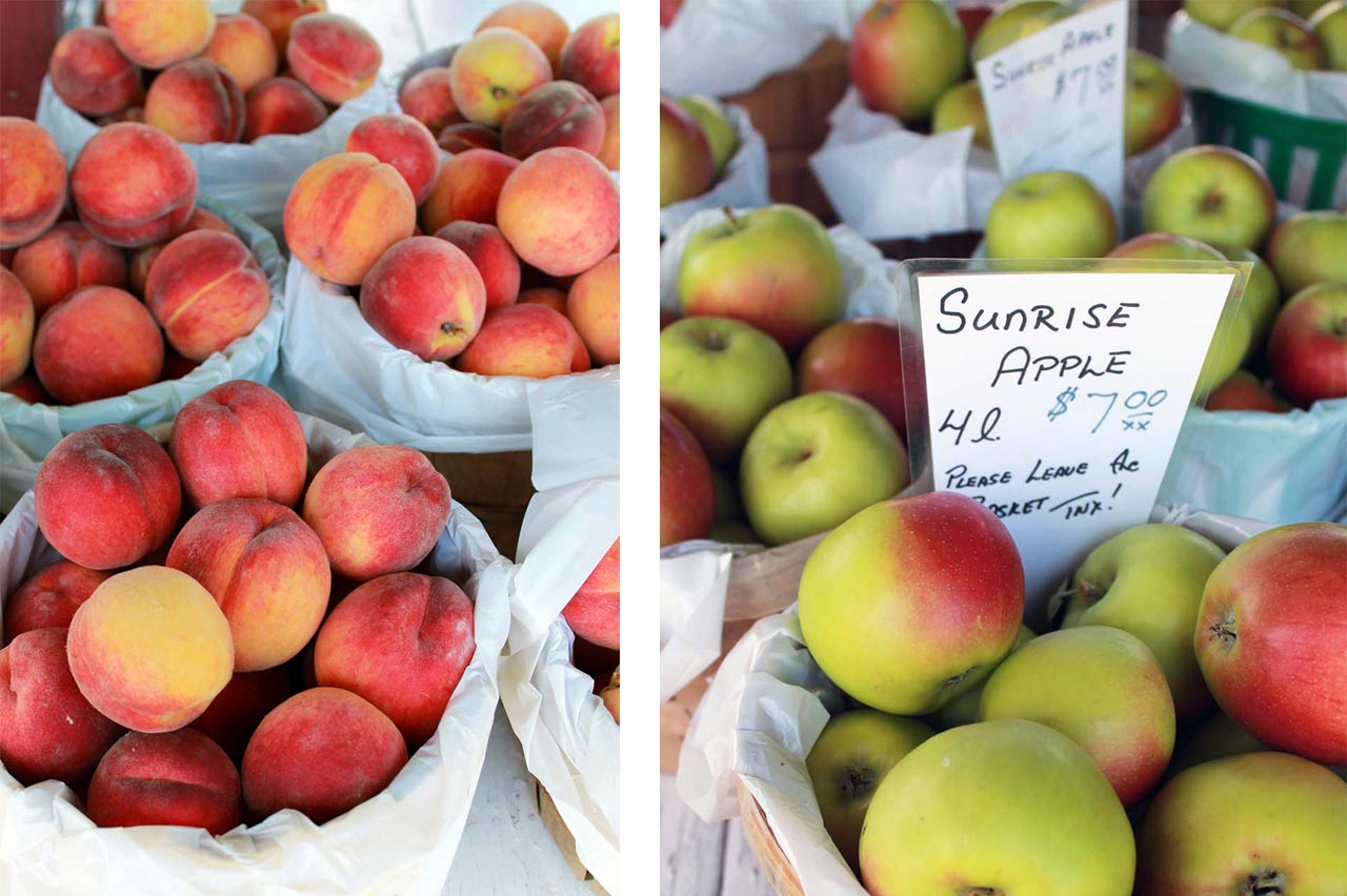 Fresh fruit at the Farmers' Market