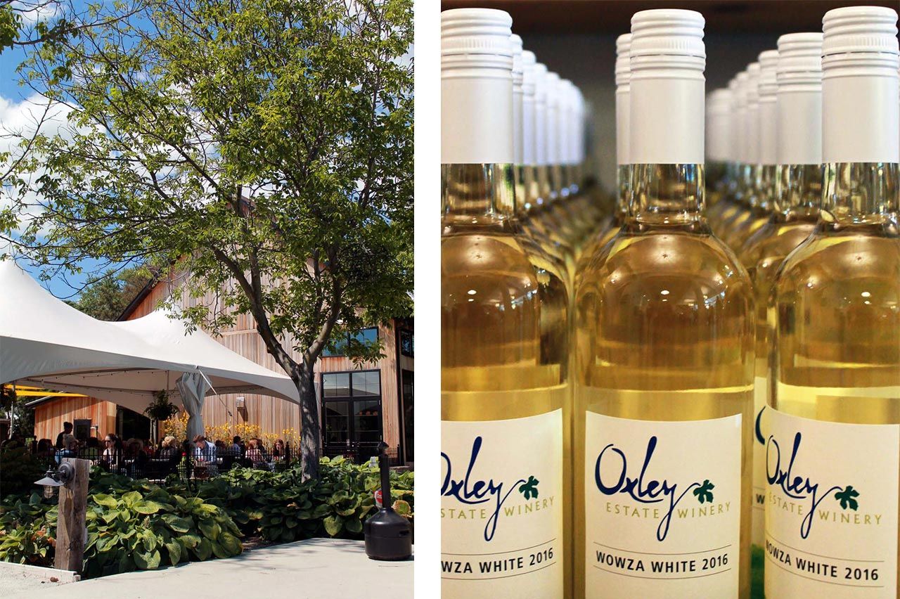Wines at Oxley Winery Estates