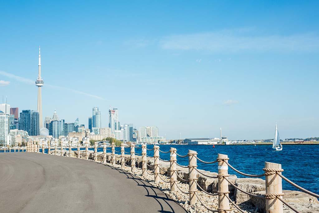 Epic views of downtown Toronto