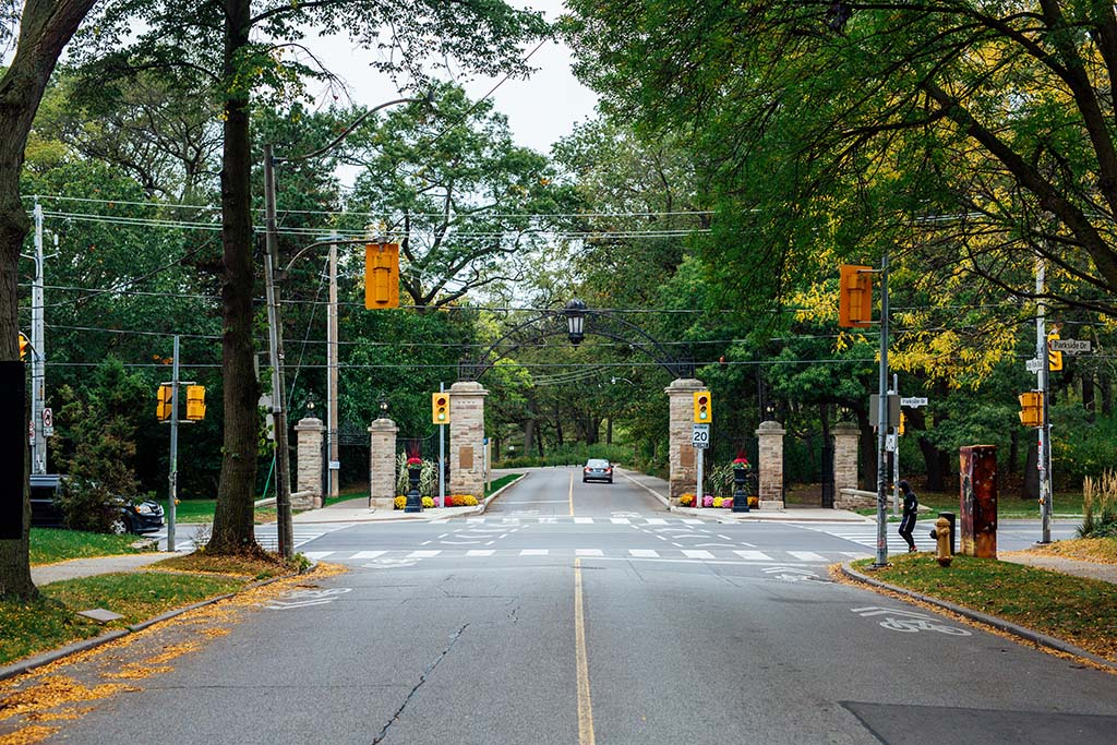 Front entrance of High Park