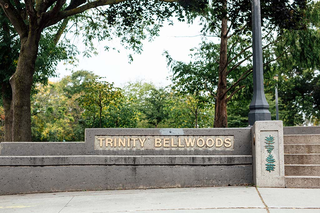 Front entrance of Trinity Bellwoods