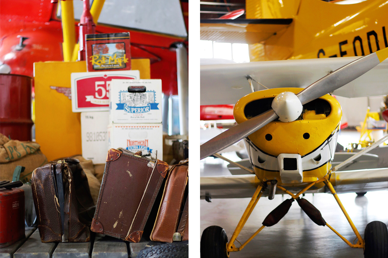 Bushplane exhibit