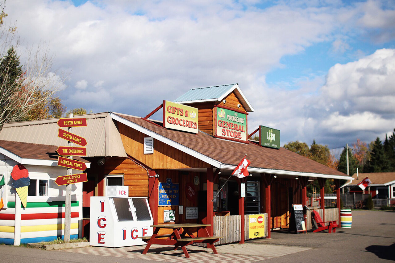 General Store at Voyageurs