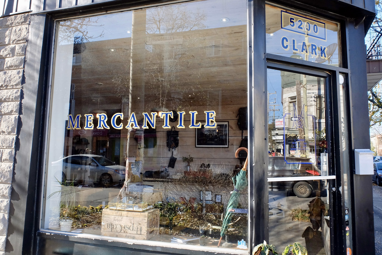 Mercantile Store in Montreal