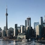 skyline of downtown Toronto