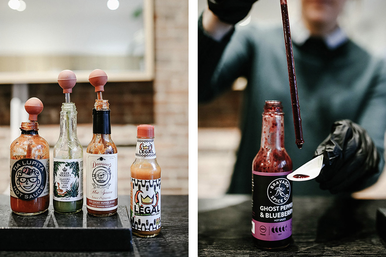 Heatonist hot sauces