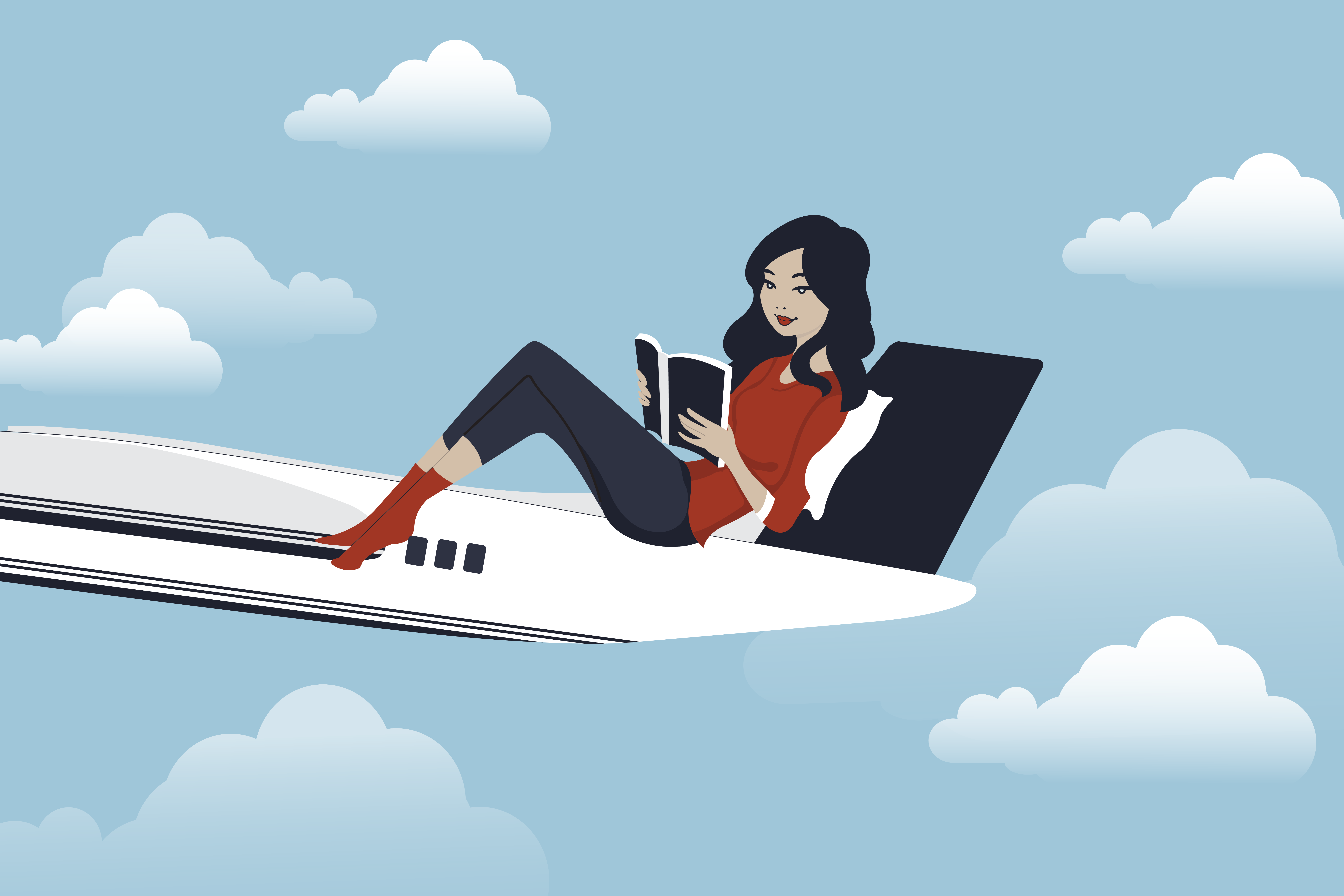 10 Ways to stay comfy on a plane