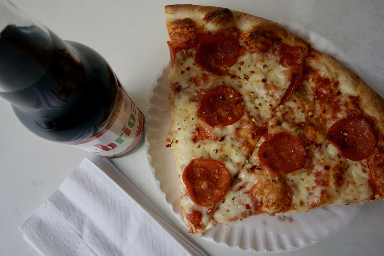 Pepperoni Pizza at Bitondos