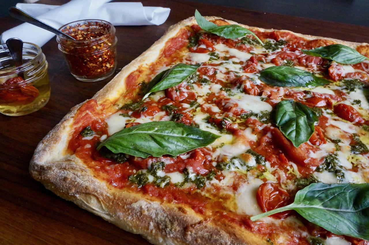 Margarita Pizza at Definas