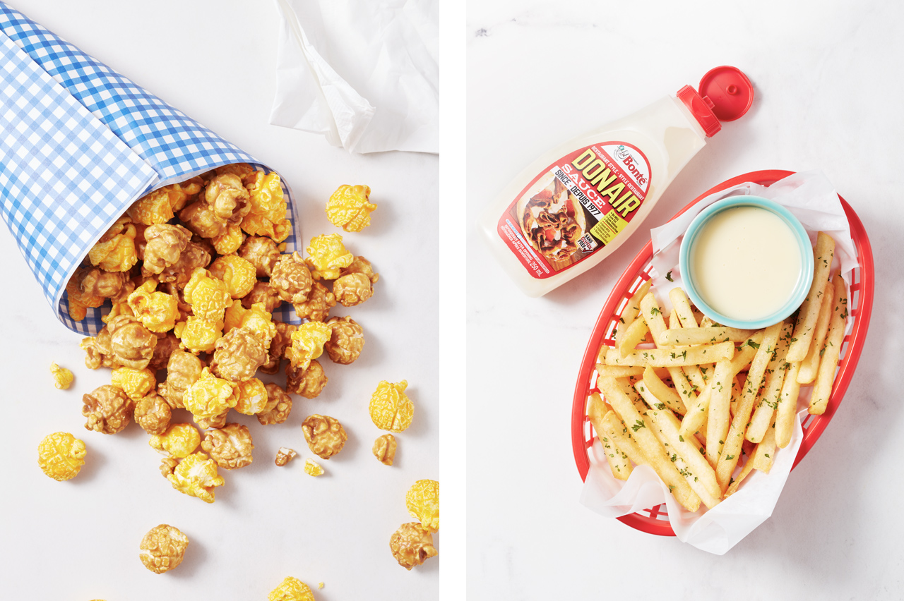 Popcorn and Fries