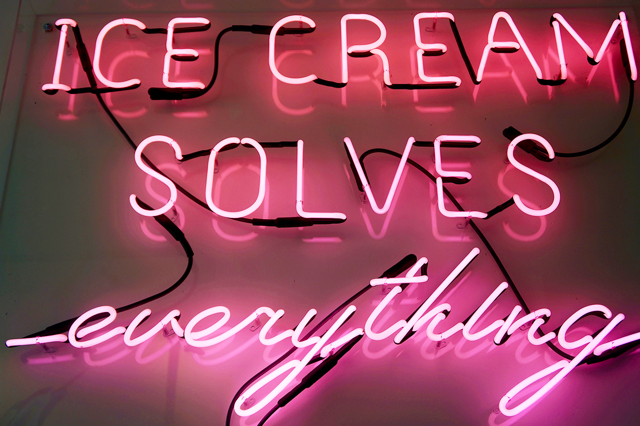 Ice Cream Solves Everything