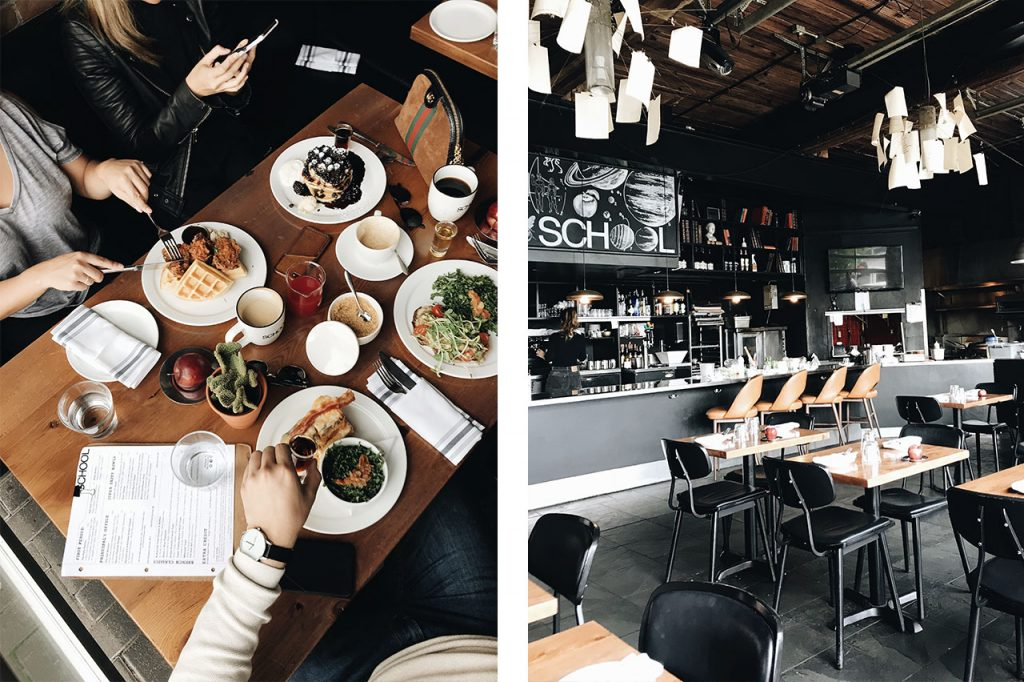 School Restaurant Toronto