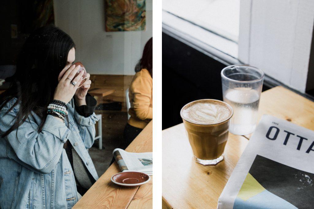 Locally-driven coffee shops Ottawa