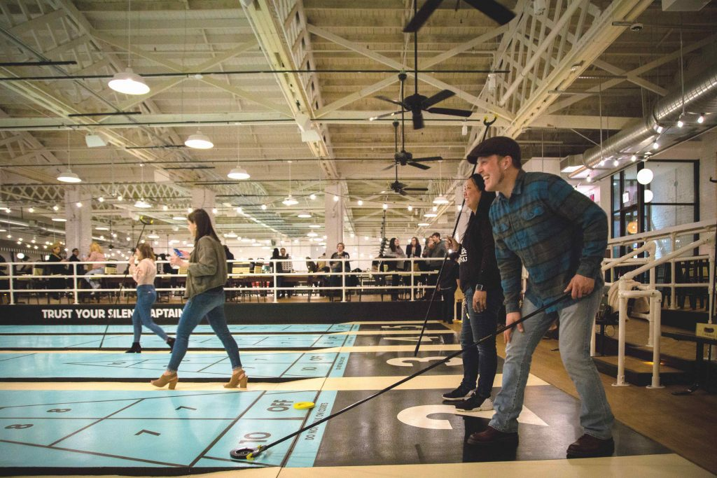 Royal Palms Shuffleboard Club Chicago