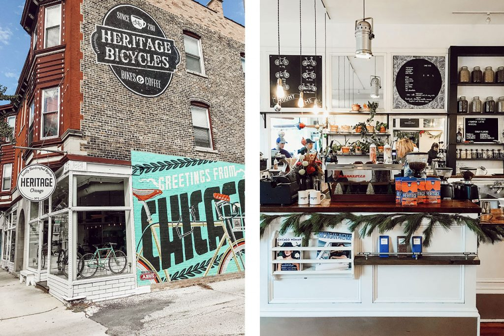 Heritage Bicycles and Coffee Chicago